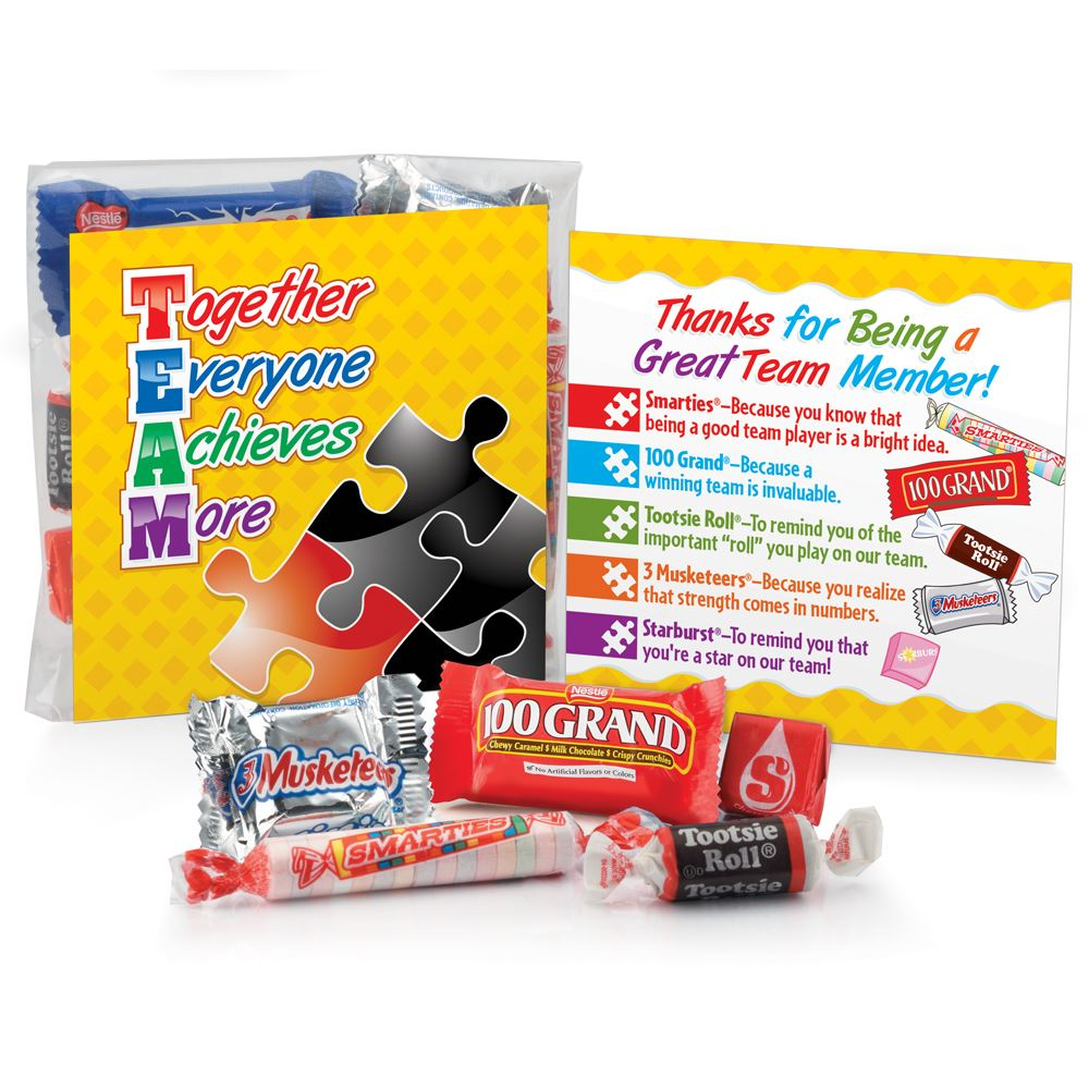 TEAM: Together Everyone Achieves More Snack Kit