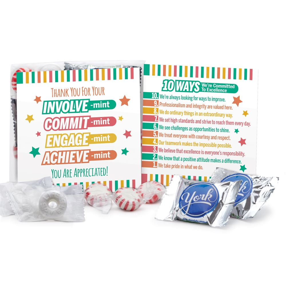 Thank You For Your INVOLVE-mint Treat Pack