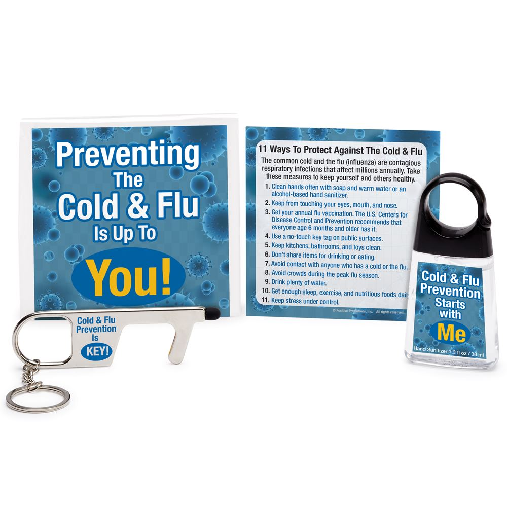 Preventing The Cold & Flu Is Up To You! Protection Kit