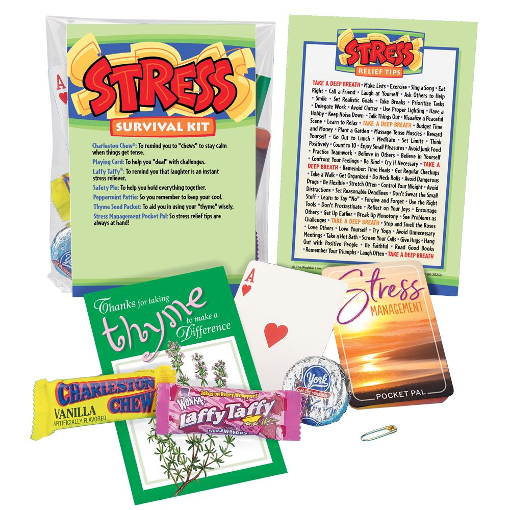 Stress Survival Kit Stress Management Positive Promotions