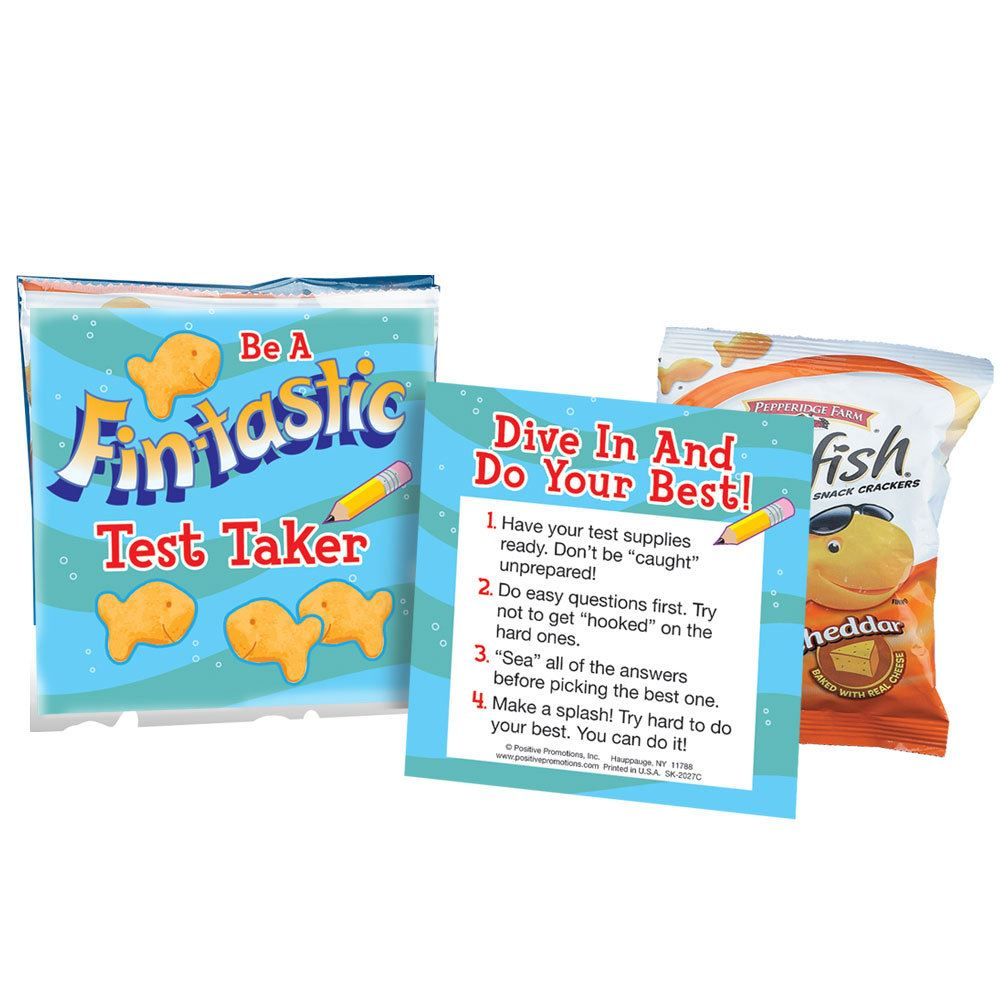 Be A Fin-tastic Test Taker Goldfish® Treat Pack - 25 Bags per Pack