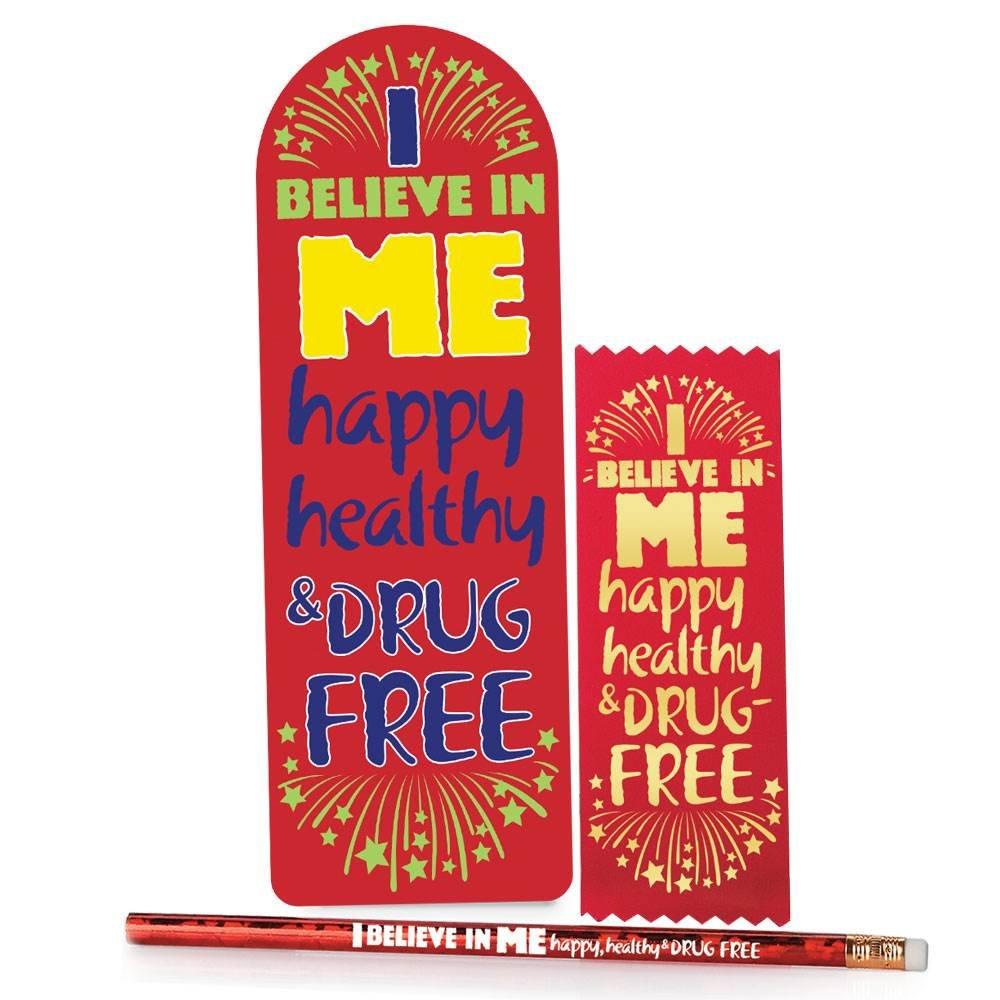I Believe In Me Happy, Healthy & Drug Free Kits - Pack of 25 Kits