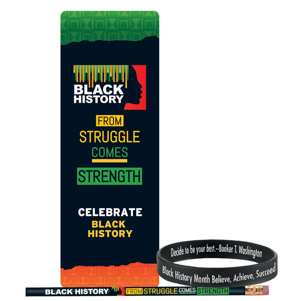 Black History: From Struggle Comes Strength Value Pack