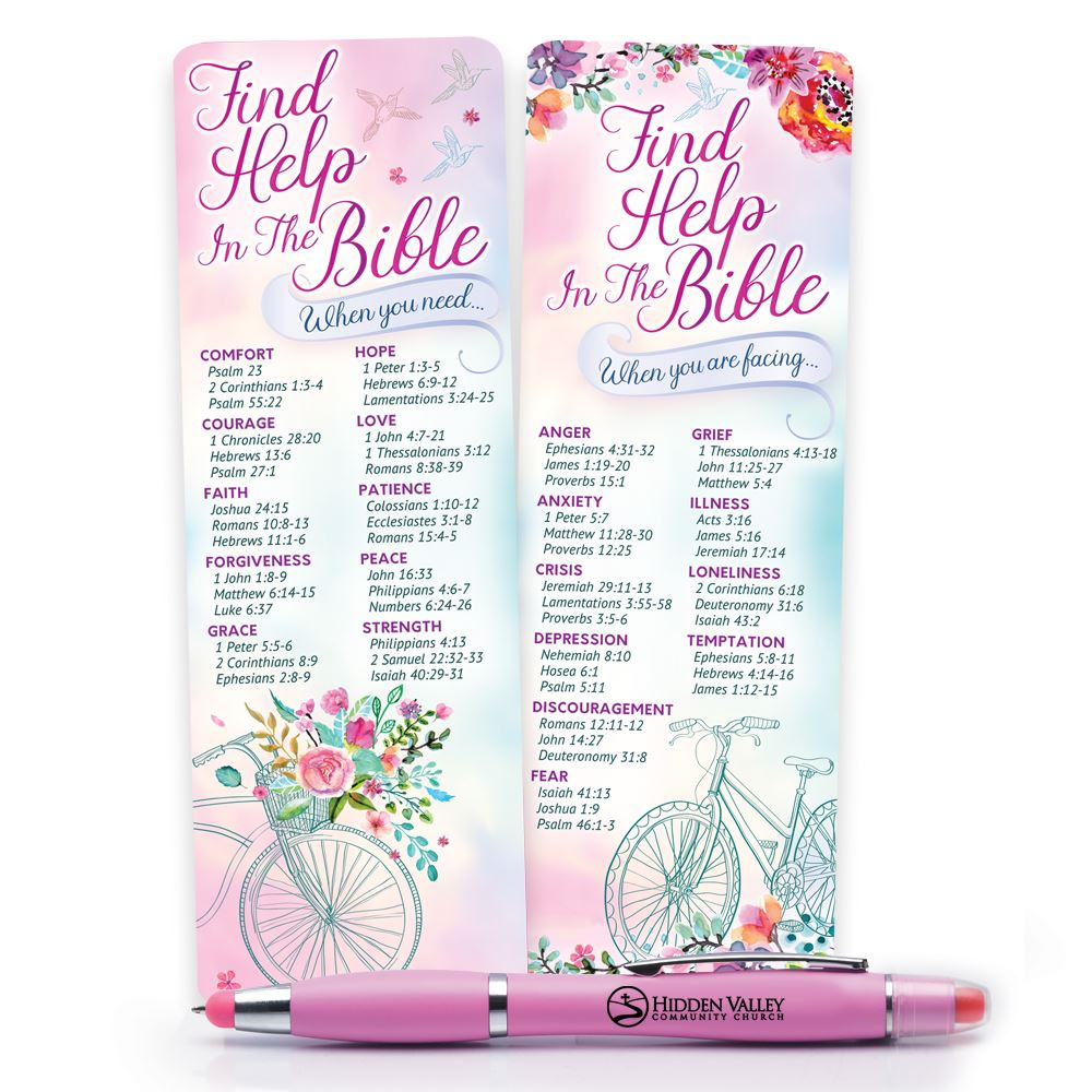 Deluxe Bookmark & 3-in-1 Pen Gift Set - Personalization Available