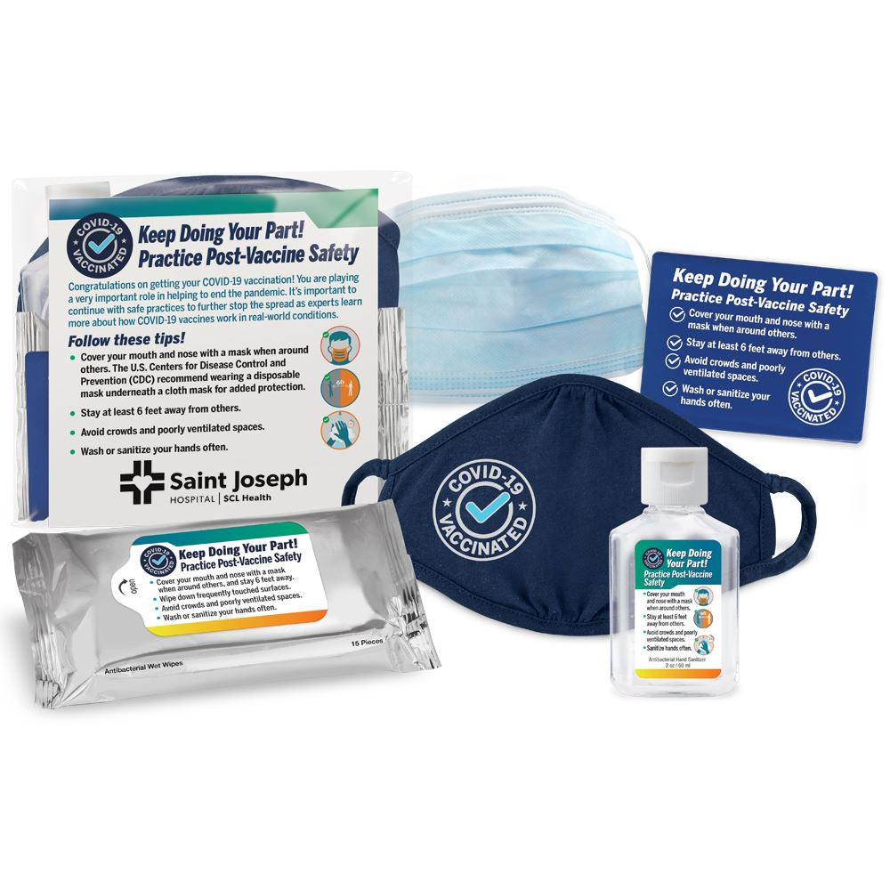 COVID-19 6-in-1 Vaccinated Kit - Personalization Available
