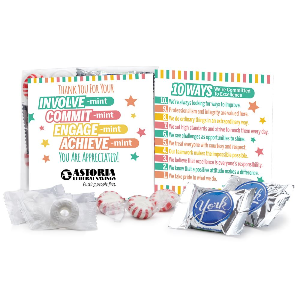 Thank You For Your INVOLVE-mint Treat Pack - Personalization Available