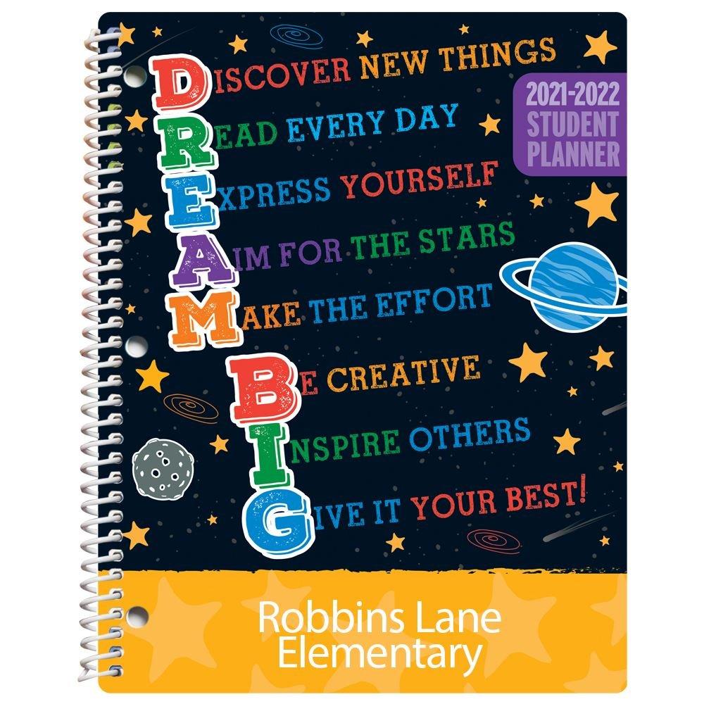 Dream Big Elementary School Student Planner