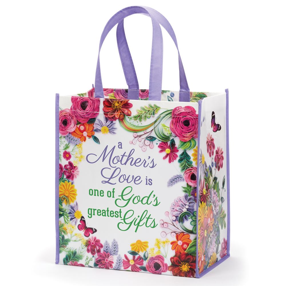 A Mother's Love Is One Of God's Greatest Gifts Non-Woven Laminated Tote