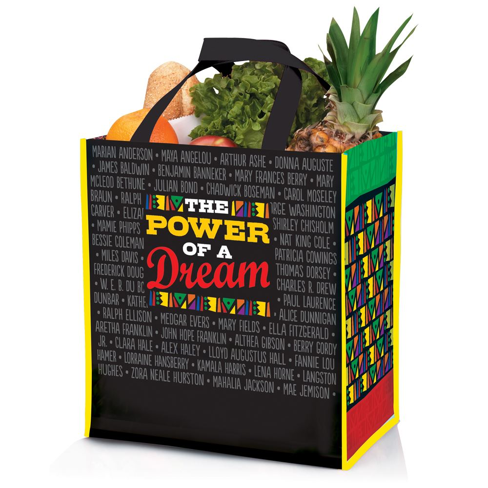 Power Of A Dream Laminated Tote Bag