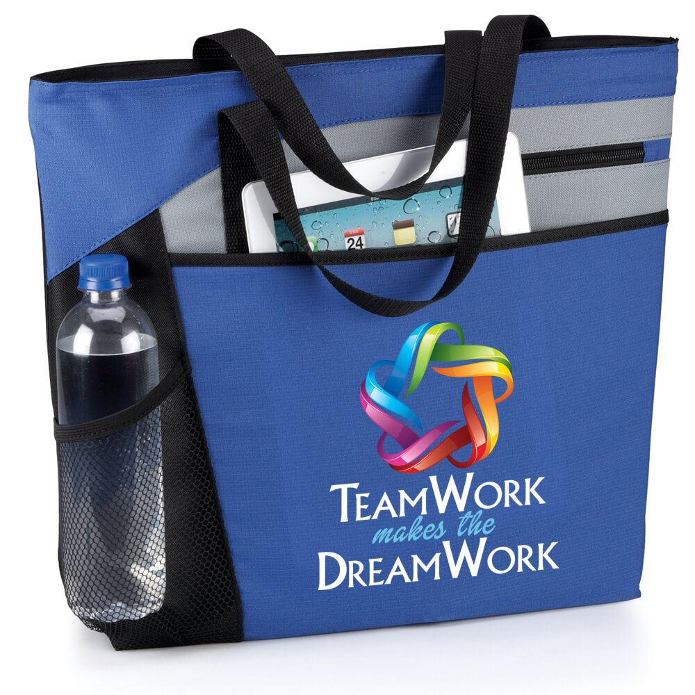 Teamwork Makes The Dream Work Mercer Tote Bag