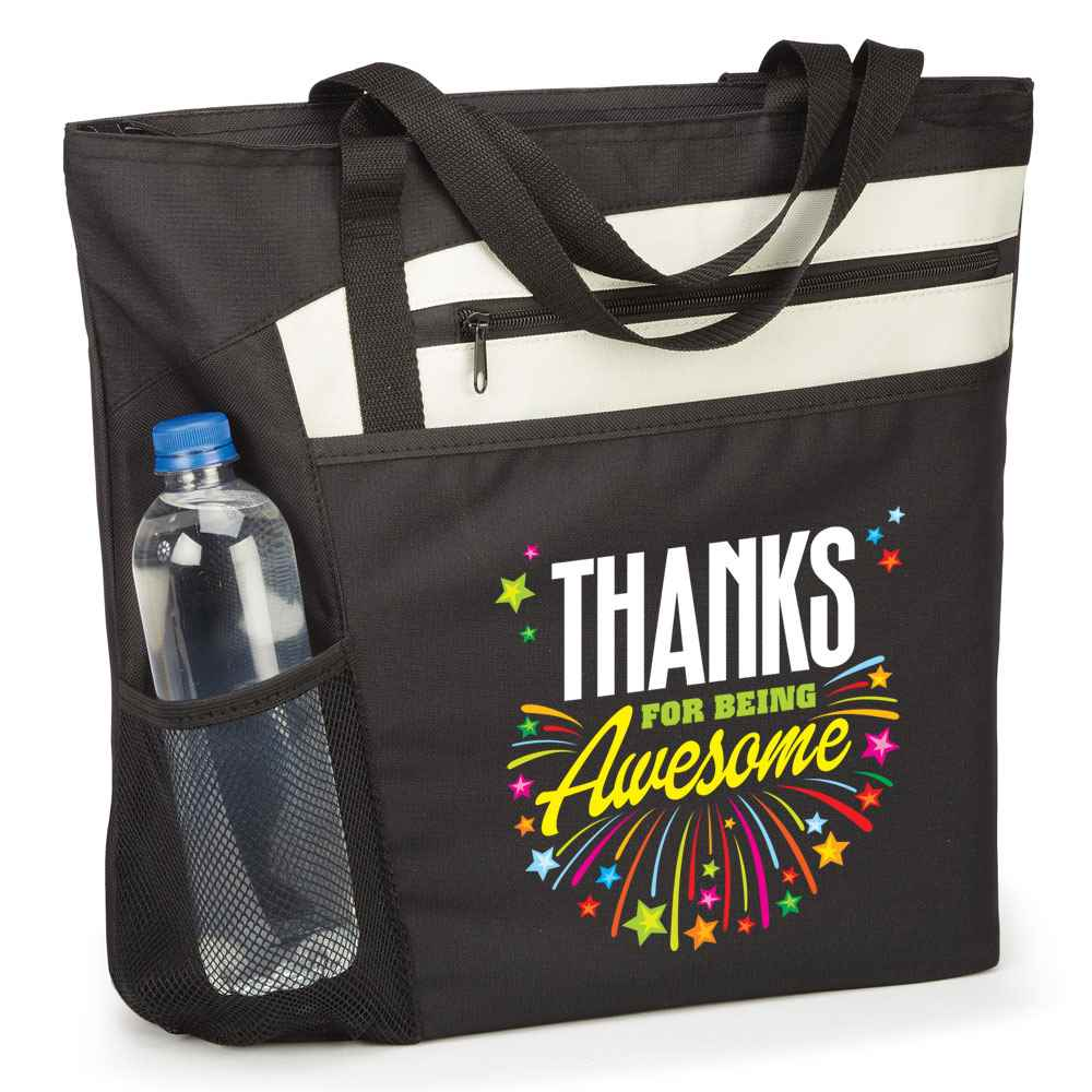 Thanks For Being Awesome Mercer Tote Bag