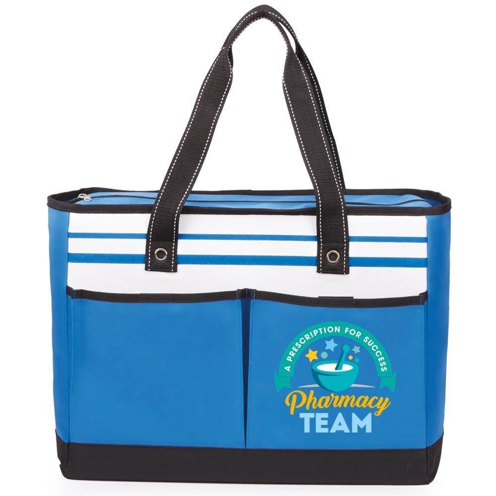 Pharmacy Team: A Prescription For Success Traveler Two-Pocket Tote Bag