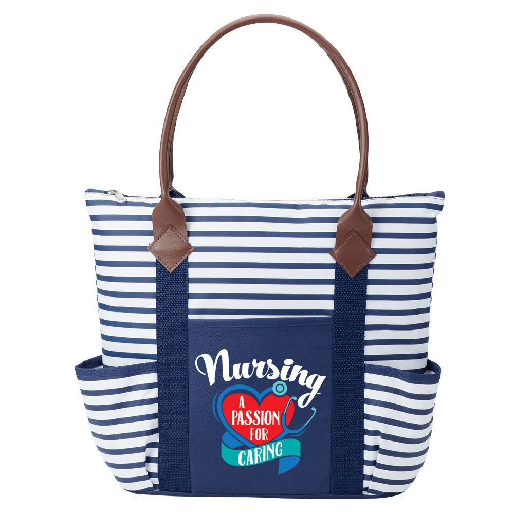 Nursing A Passion For Caring Nantucket Tote Bag