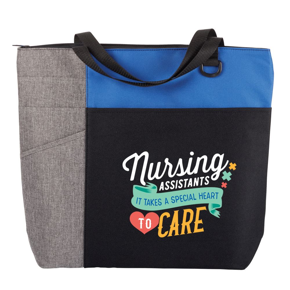 Nursing Assistants: It Takes A Special Heart To Care Ashland Tote Bag