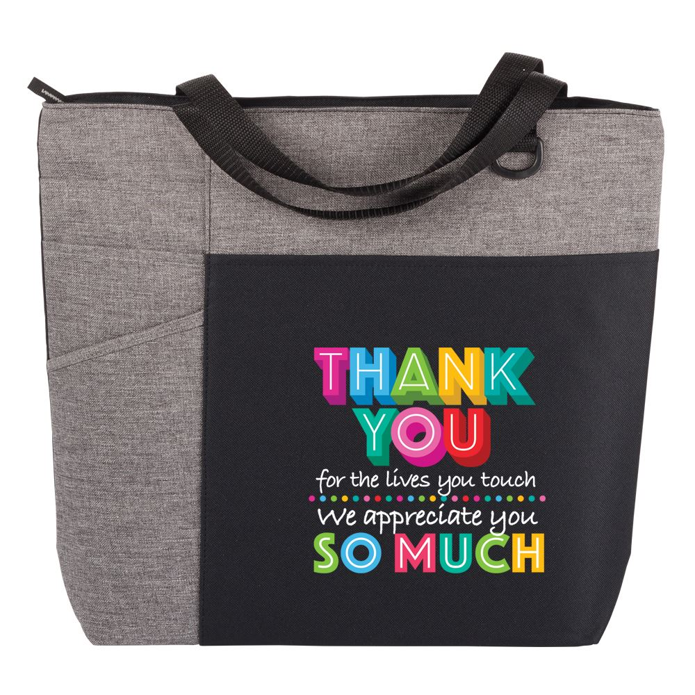 Thank You For The Lives You Touch, We Appreciate You So Much Ashland Tote Bag