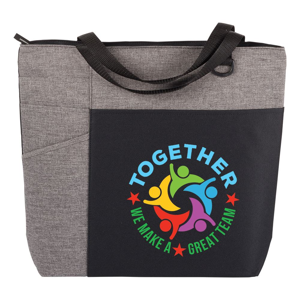 Together We Make A Great Team Ashland Tote Bag