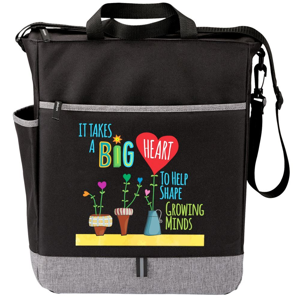 It Takes A Big Heart To Help Shape Growing Minds Fairfield Tote Bag