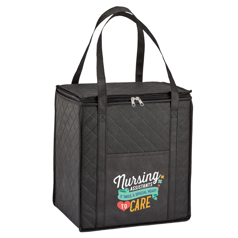Nursing Assistants It Takes A Special Heart To Care Non-Woven Shopper Tote