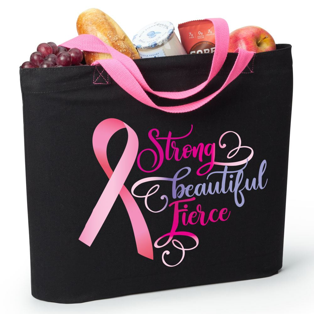 Strong, Beautiful, Fierce Harrison Eco Tote Bag