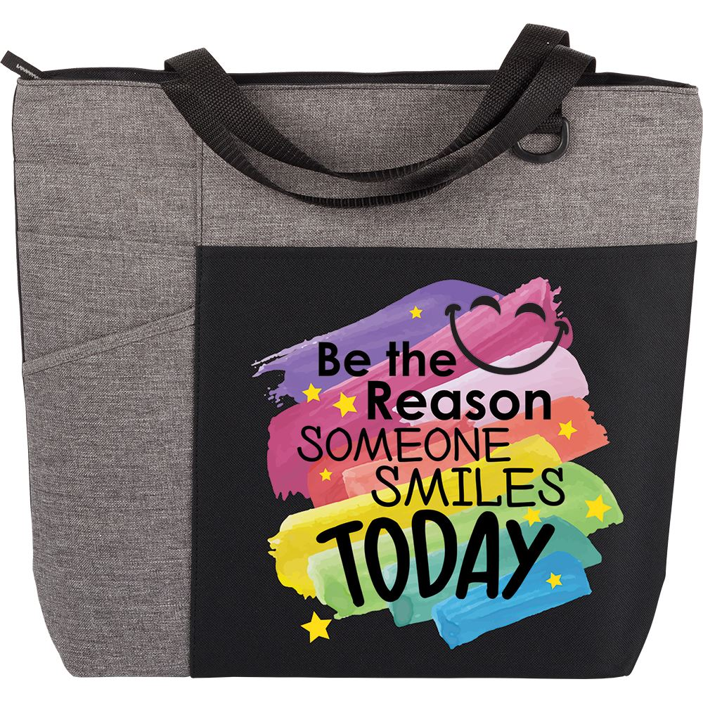 Be The Reason Someone Smiles Today Ashland Tote Bag