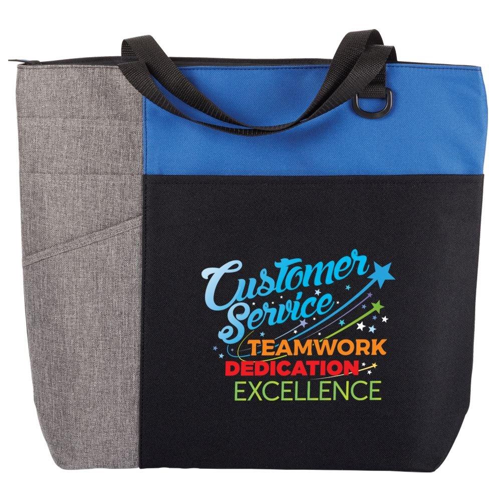 Customer Service: Teamwork, Dedication, Excellence Ashland Tote Bag