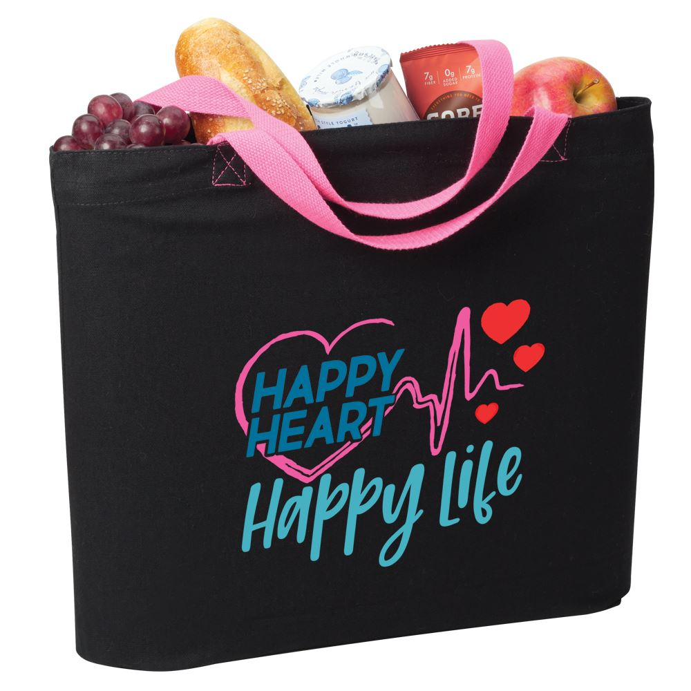 Happy Heart, Happy Life Harrison Eco Tote Bag