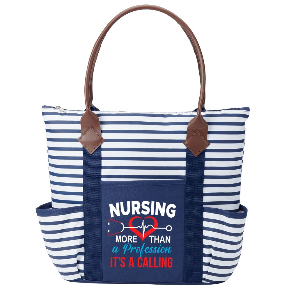 Nursing: More Than A Profession, It's A Calling Nantucket Tote Bag