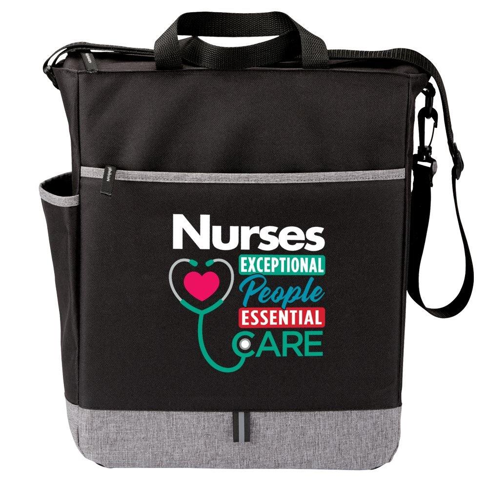 Nurses: Exceptional People, Essential Care Fairfield Tote Bag