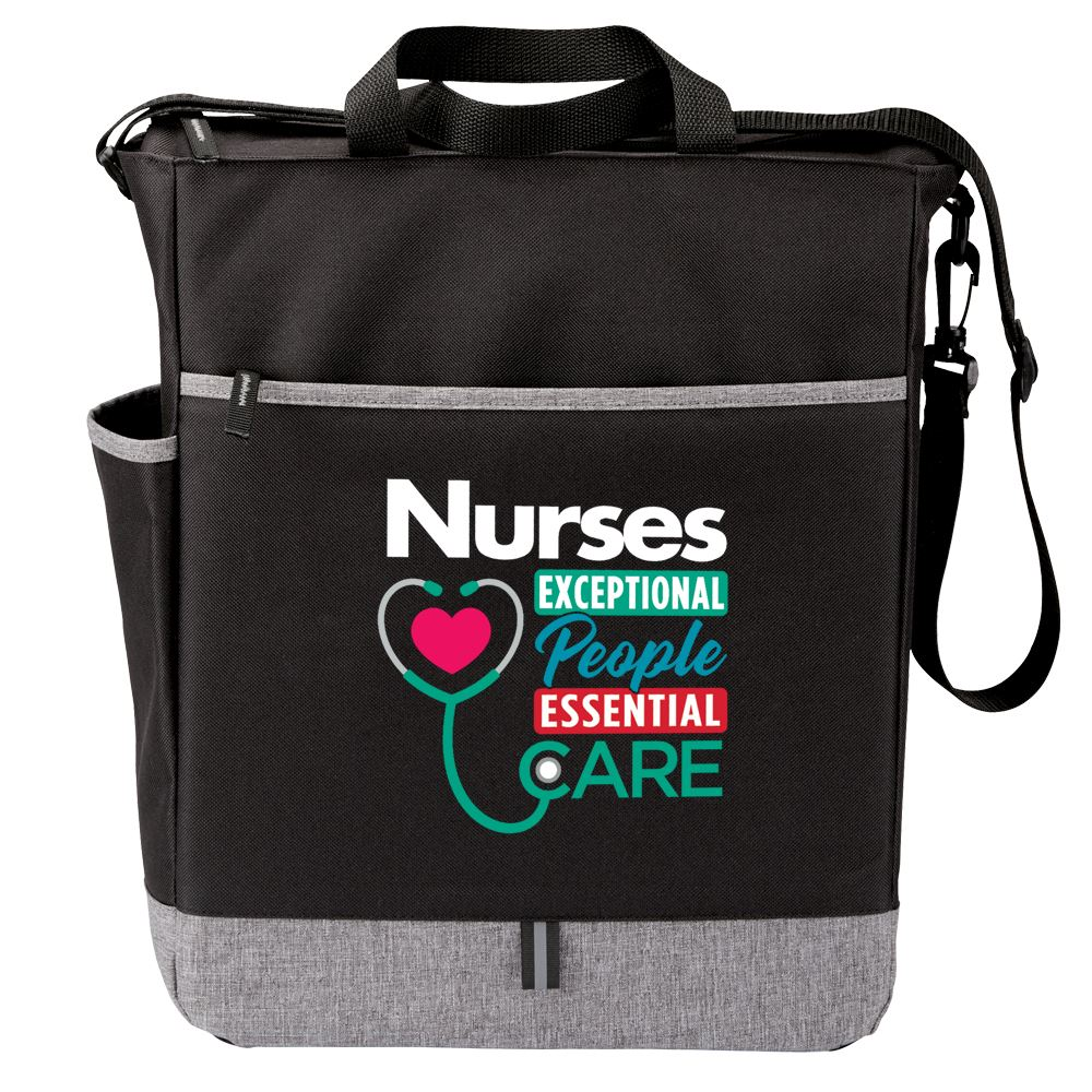 Nurses: Exceptional People, Essential Care Fairfield Tote Bag