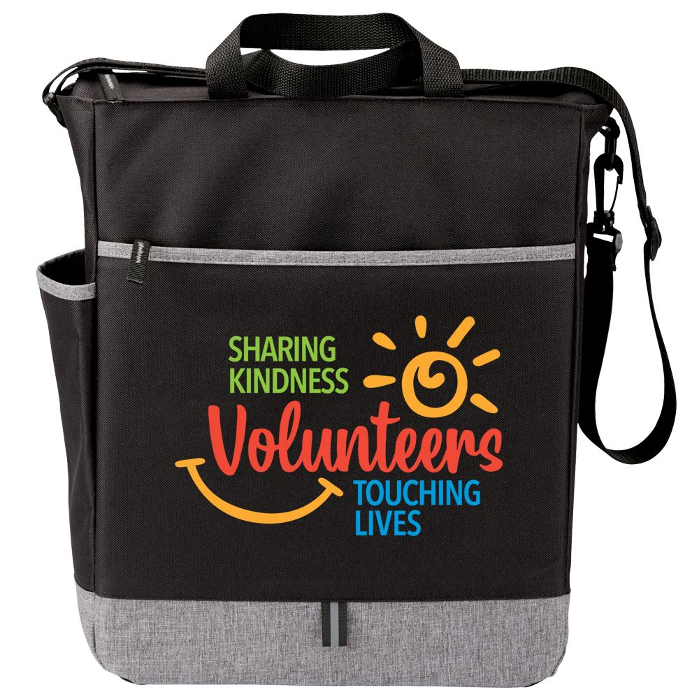 Volunteers: Sharing Kindness, Touching Lives Fairfield Tote Bag