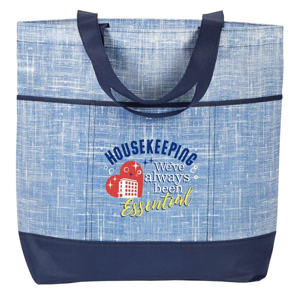 Housekeeping: We've Always Been Essential - Malibu Non-Woven Tote Bag