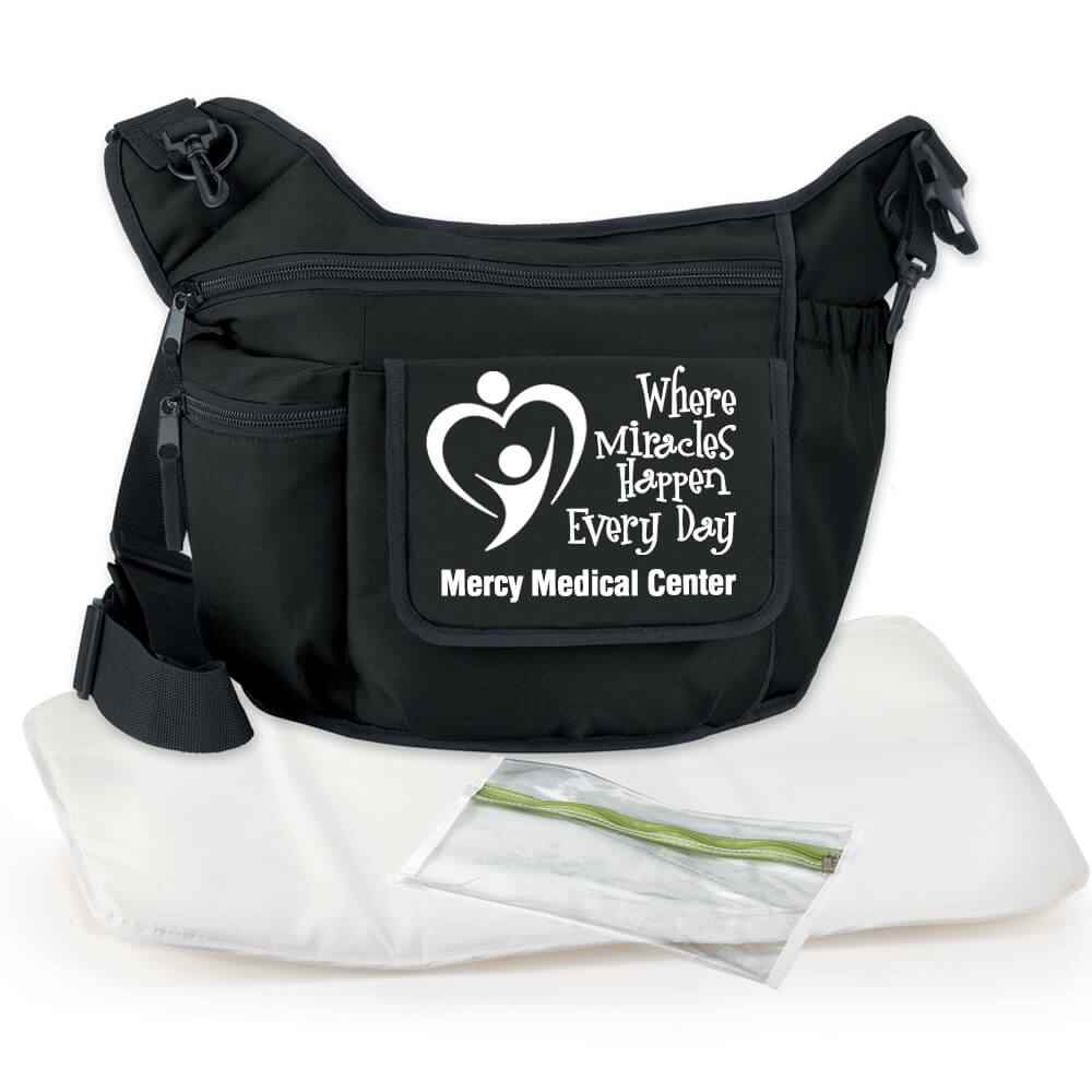 On-The-Go Unisex Insulated Sling Diaper Bag - Personalization Available