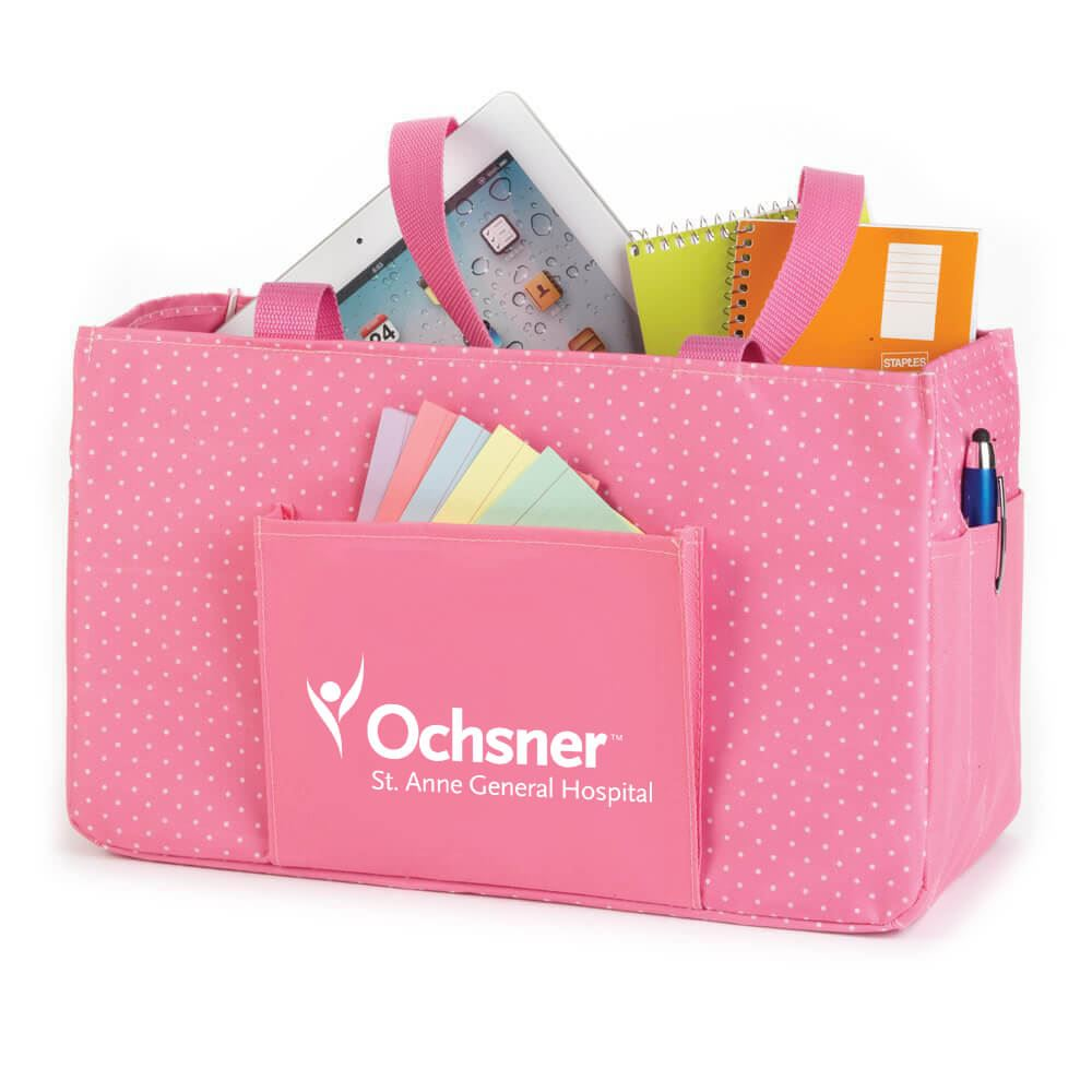 Pink Lynbrook Utility Tote - Personalization Available