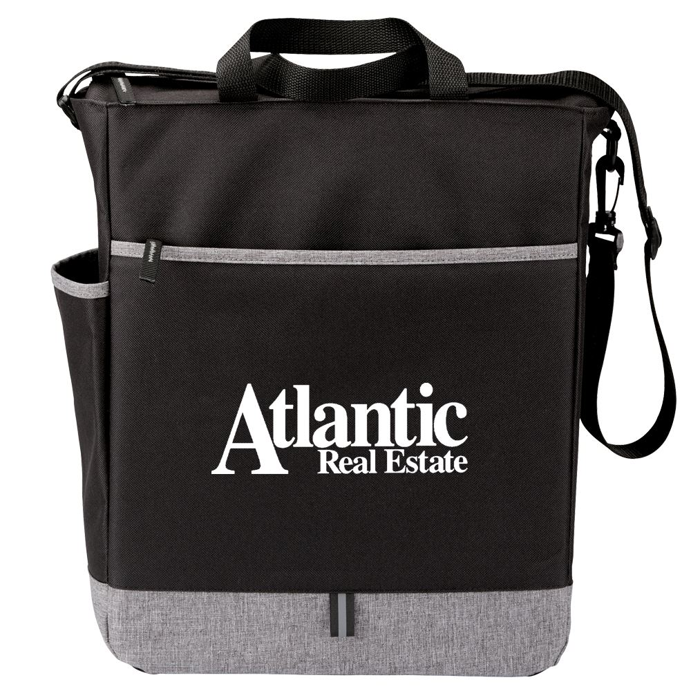 Black Fairfield Tote Bag - Personalization Available