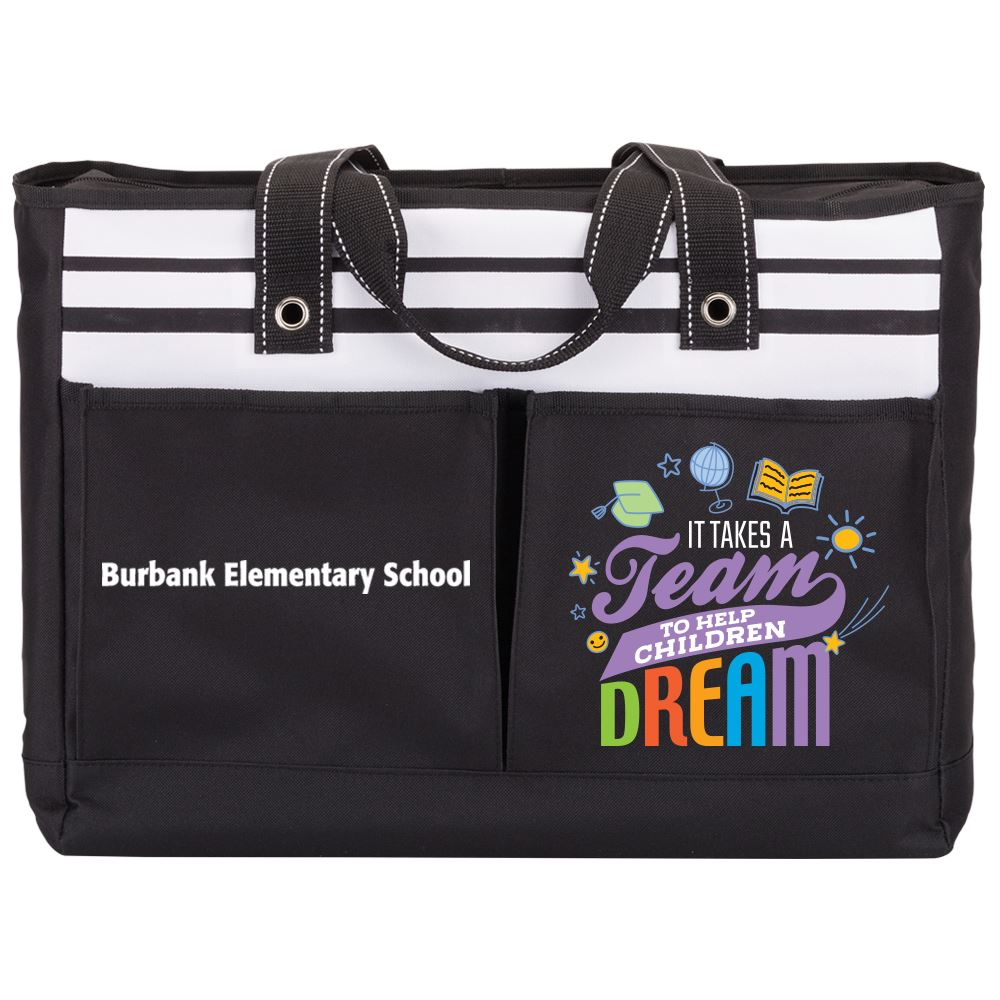It Takes A Team To Help Children Dream Traveler Tote - Personalization Available