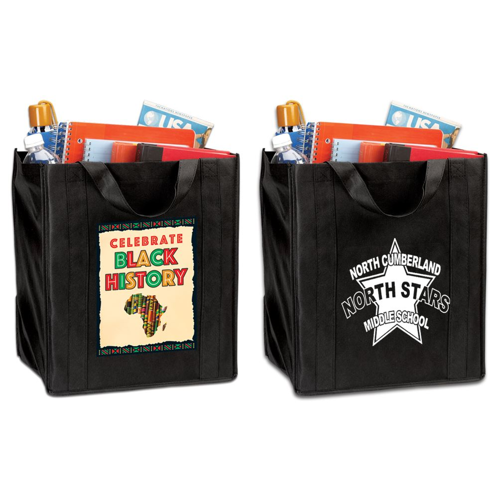 Kente Cloth Tote Bag With Personalization