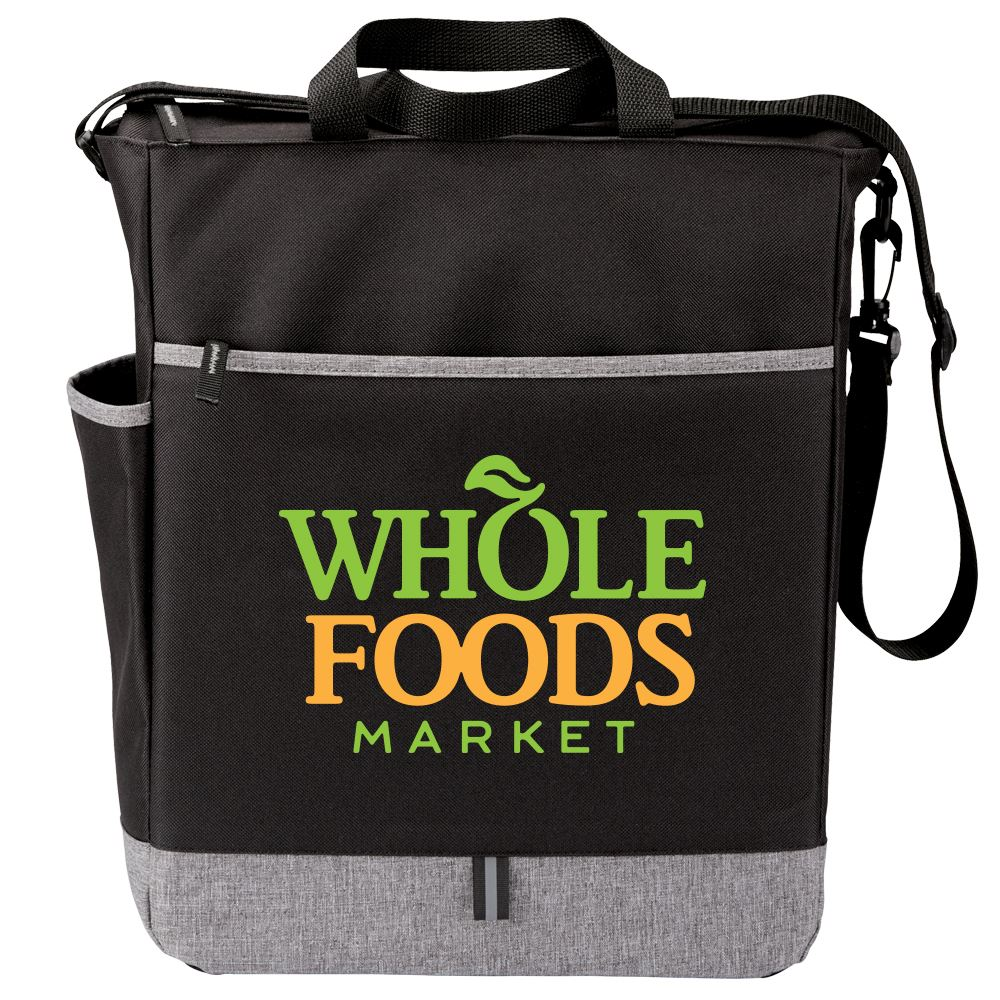 Black Fairfield Tote Bag - Full Color Personalization Available