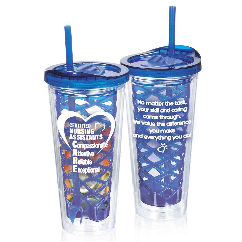 Certified Nursing Assistants: CARE Fruit-To-Go Infuser Tumbler 20-Oz.