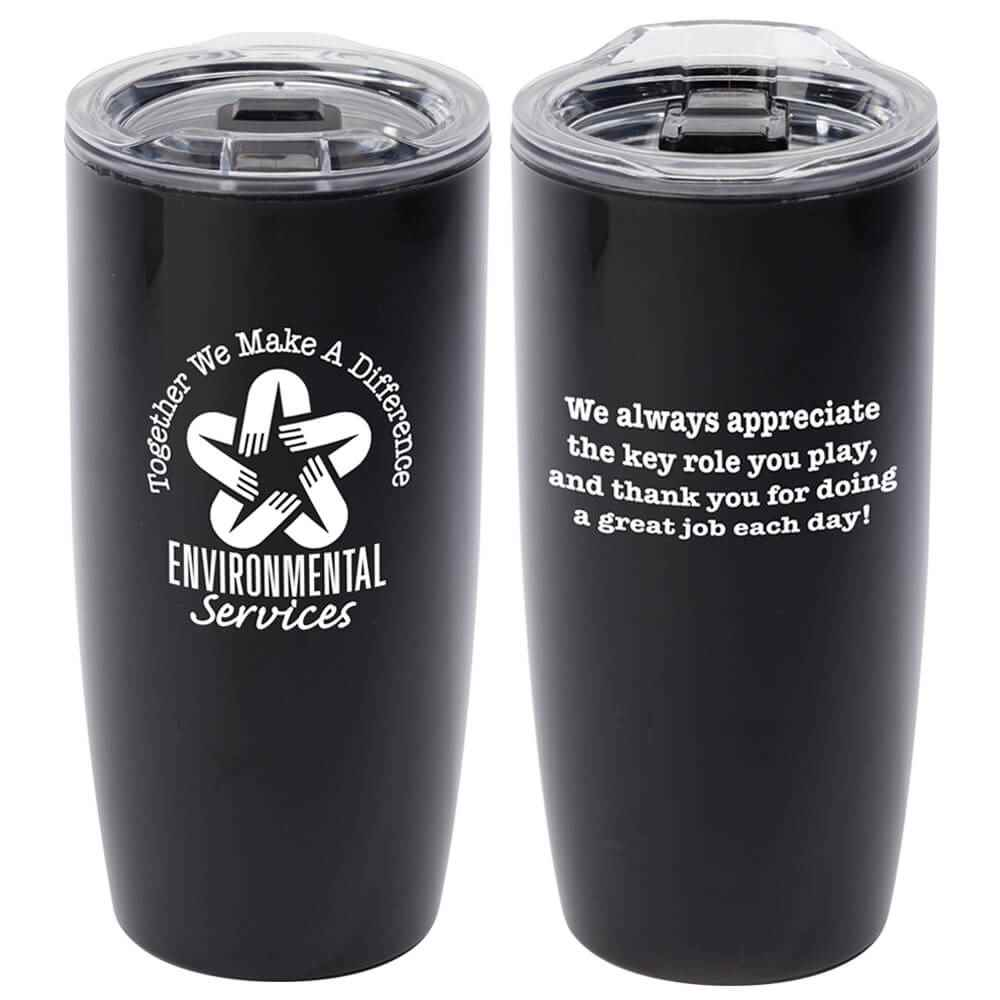 Environmental Services: Together We Make A Difference Sierra Insulated Acrylic Tumbler 19-Oz.