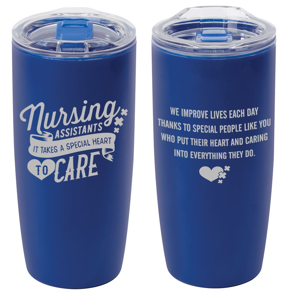 Nursing Assistants It Takes A Special Heart To Care Sierra Insulated Acrylic Tumbler 19-Oz.