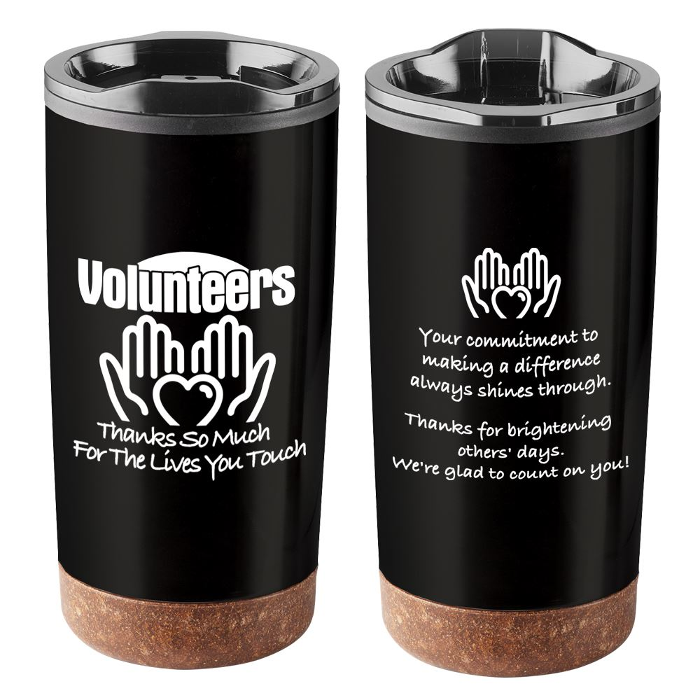 Volunteers: Thanks So Much For The Lives You Touch Durango Stainless Steel Tumbler 20-Oz.