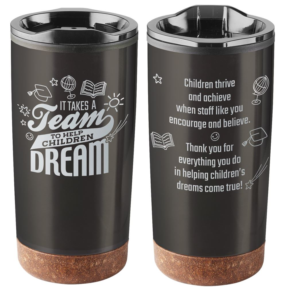It Takes A Team To Help Children Dream Durango Stainless Steel Tumbler 20-Oz.