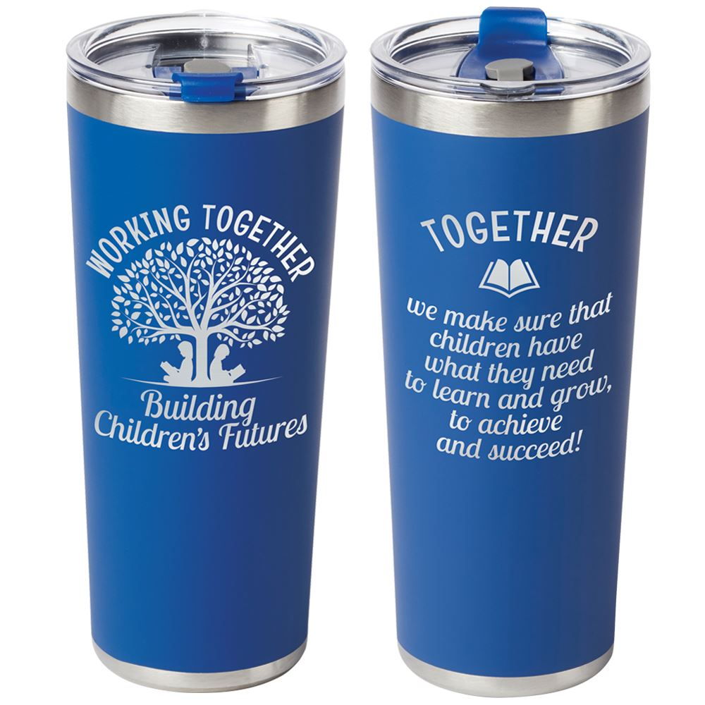 Working Together Building Children's Futures Stockton Tumbler 20-Oz.