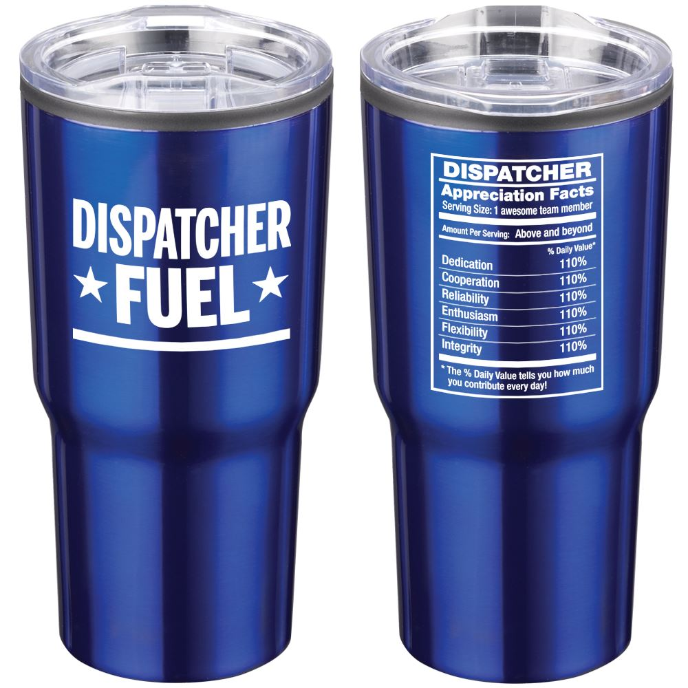 Dispatchers The Team Behind The Scenes Timber Insulated Stainless Steel Travel Tumbler 20-Oz.