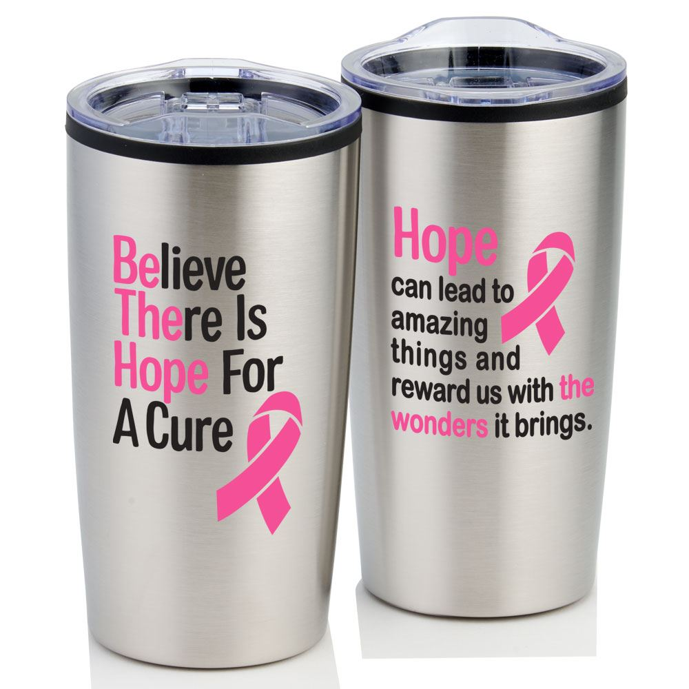 Believe There Is Hope for A Cure Teton Stainless Steel Tumbler 20-Oz.