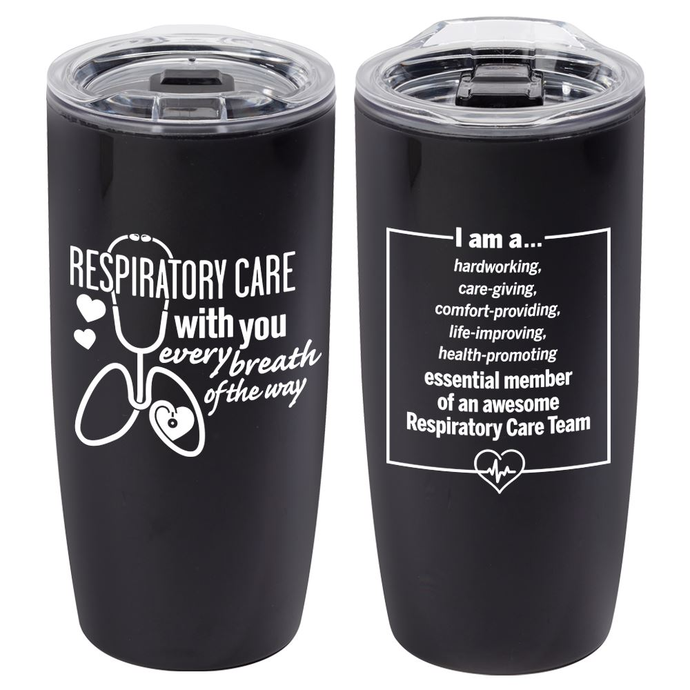 Respiratory Care With You Every Breath Of The Way Sierra Insulated Acrylic Tumbler 19-oz.