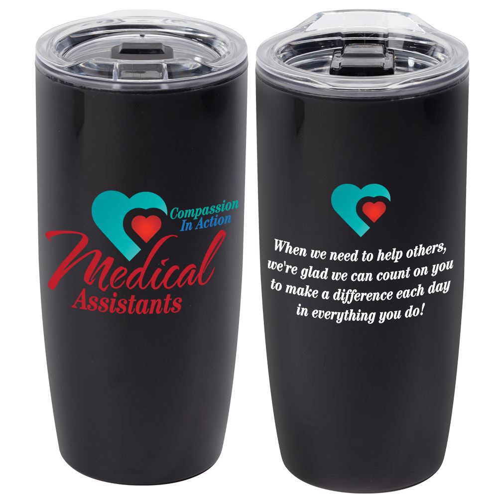 Medical Assistants: Compassion In Action Sierra Insulated Acrylic Tumbler 19-Oz.