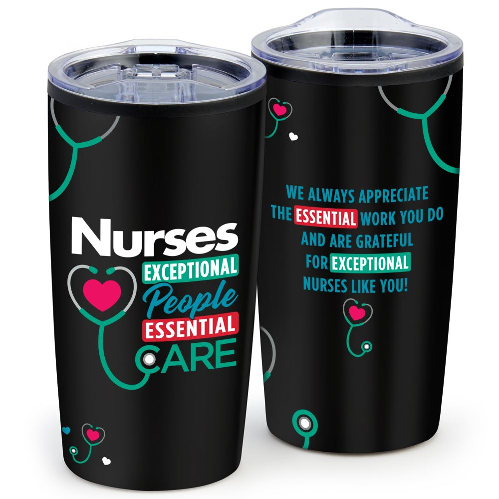 Nurses: Exceptional People, Exceptional Care Teton Stainless Steel Tumbler 20-Oz.