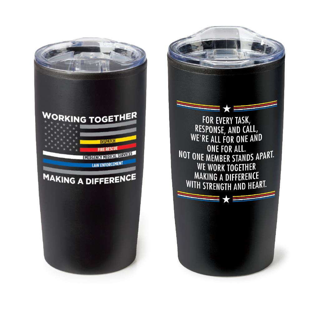 Working Together Making A Difference Teton Stainless Steel Tumbler 20-oz.