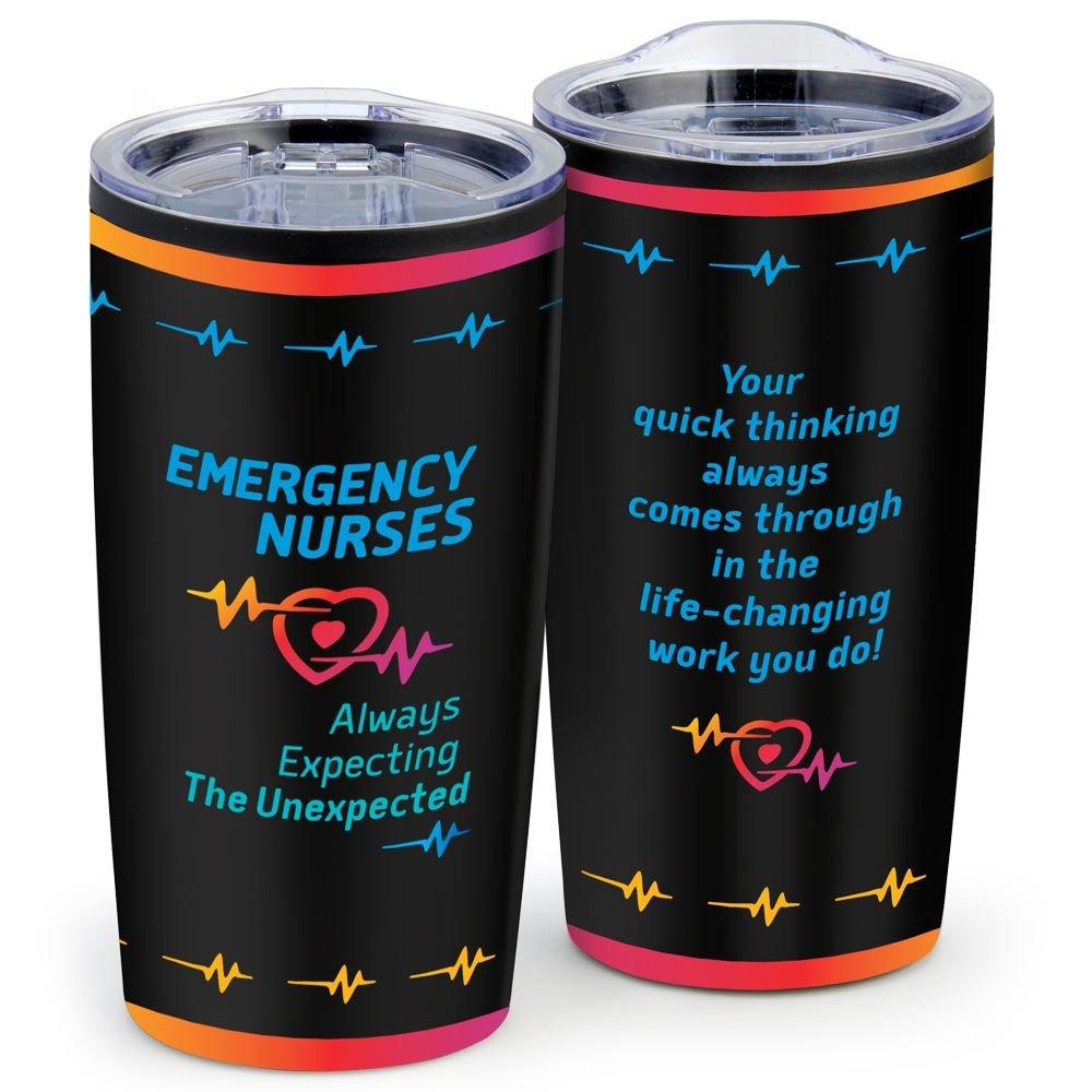 Emergency Nurses: Always Expecting The Unexpected Teton Stainless Steel Tumbler 20-Oz.